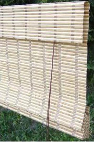 Jaluzele orizontale de bambus de la Naturtrend Design