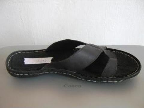 Papuci barbati negri 8100