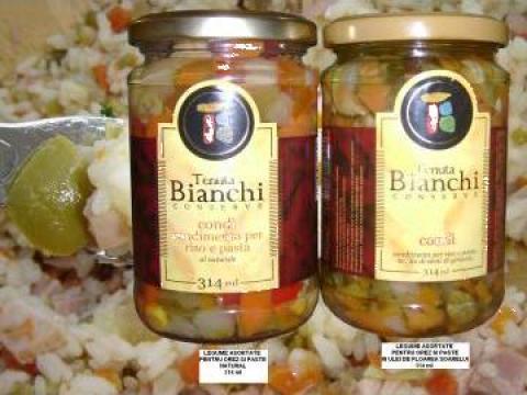 Masline umplute in ulei, Ciuperci pleurotus / pugliese 314ml