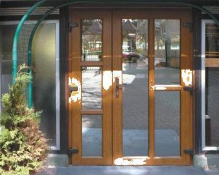 Usi De Intrare De Exterior Pvc Constanta Gamaterm Design Id 979472