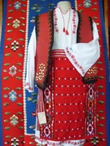 Costum popular femeie zona Dobrogea