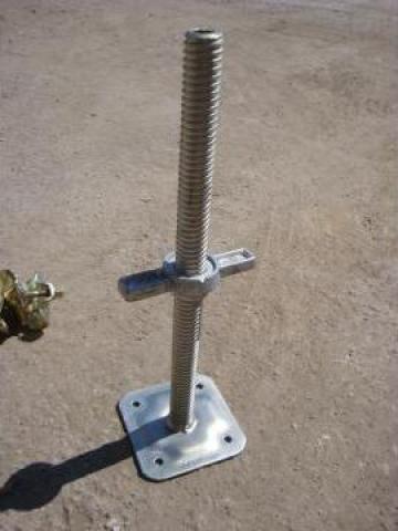 Picior reglabil zincat-vopsit schela metalica de la Blackbull Com Ro