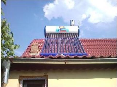 Instalatii solare cu tuburi vidate de la Sosst Prest Srl