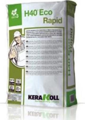 Adeziv pentru granit H40 eco Rapid - Kerakoll