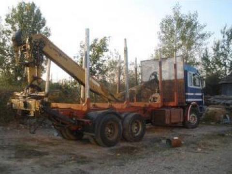 Camion transport lemn Scania de la Izamir Construct Srl