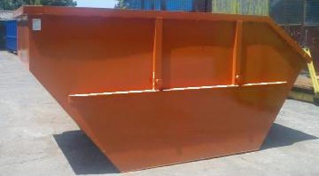 Container 10 mc Skip deseuri voluminoase culoare portocalie de la Lucimet Prod Srl