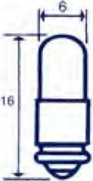 Bec mini canelat 36V, 30 mA