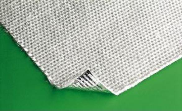 Tesatura fibra sticla aluminizata