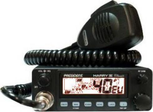 Statie radio President Hary 3 duala12-24Vcc de la Electro Supermax Srl