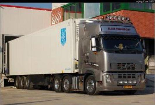 Transport rutier terestru cu camioane de marfa de la Degami