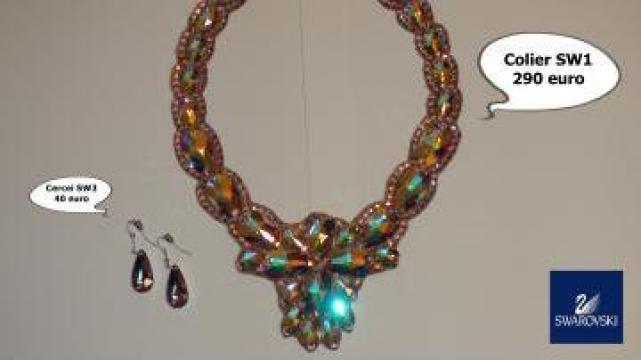 Set bijuterii Swarovski - Coliere si cercei de la Asociatia Nero Dance Clib