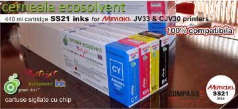 Cartuse cerneala imprimanta Mimaki SS21 Mimaki JV33 si CJV