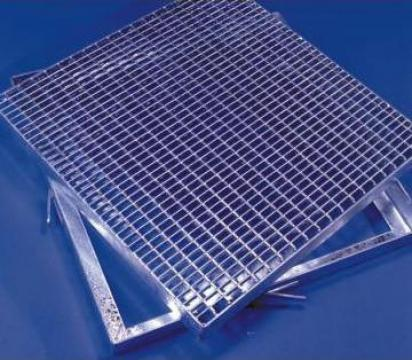 Gratare zincate termic P