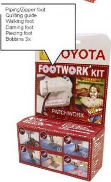 Kit accesorii cusut Patchwork Toyota de la Sercotex International Srl