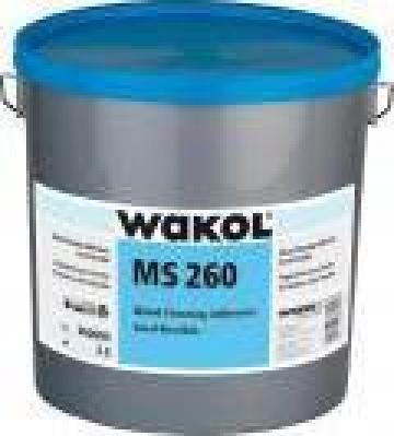 Adeziv pentru parchet, rigid-elastic MS 260 de la Alveco Montaj Srl