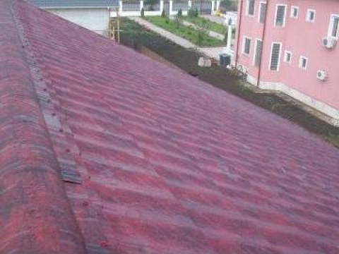 Tigla metalica Lindab de la Hot Roof Srl