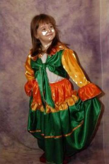 Costum Fetita pentru dansul tiganesc de la Costume De Serbare Pompilia Silaescu