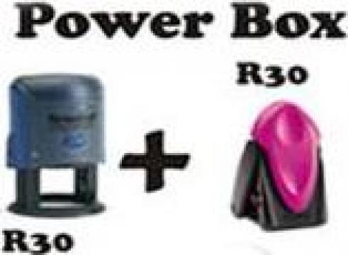 Set stampile Trodat Power Box de la Doctor Finance Srl