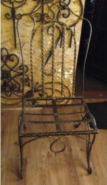 Scaune din fier forjat pentru gradina/birou de la Forjart Srl