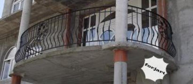 Balcon din fier forjat pentru terasa