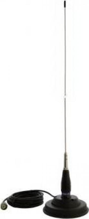 Antena CB ML145 - cu magnet de 125 mm de la Electro Supermax Srl