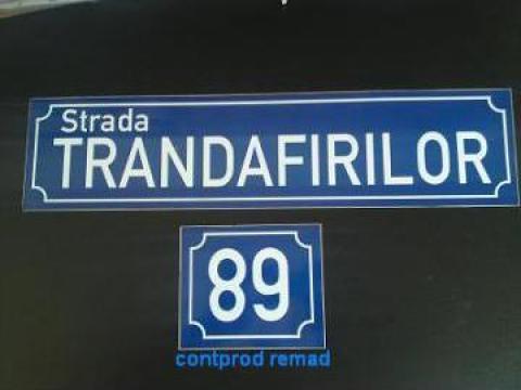 Numere si placute stradale de la Ralmetal Remad Srl