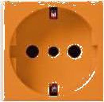 Priza modul 45 orange de la Niedax Srl