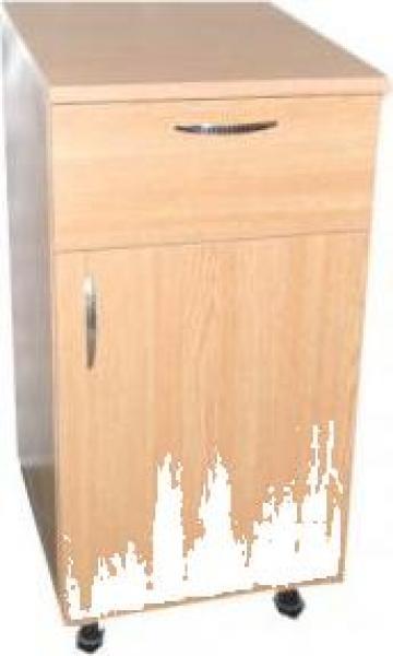 Dulap de baza bucatarie usa + sertar si polita 50 cm