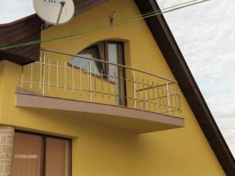Balcon exterior drept cu bete de la Sc Ambient Inox Srl
