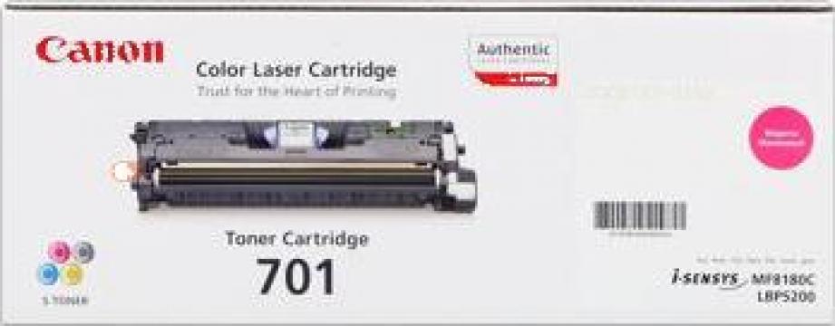 Cartus Imprimanta Laser Original Canon EP-701M de la Green Toner