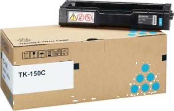 Cartus Imprimanta Laser Original KYOCERA TK-150C de la Green Toner
