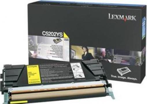 Cartus Imprimanta Laser Original LEXMARK C5202YS de la Green Toner