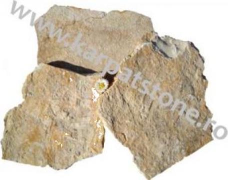 Calcar galben-rustic, neregulat de la Karpat Stone Srl