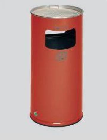 Cos de gunoi cu scrumiera, Round Star H70 K de la Eurostart Srl