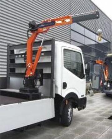 Macara auto hidraulica 500 kg pentru furgonete si platforme de la Modul-Stor Hungary Kft.