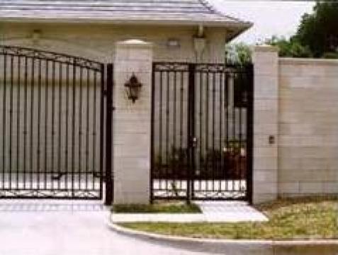 Garduri si porti elemente din fier forjat