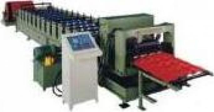 Linie echipament productie tigla metalica