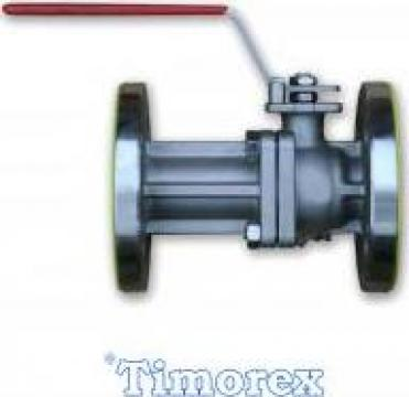 Robinet de inchidere cu sfera (ROS) corp de inox de la Timorex Impex Srl