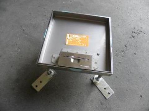 Clapa inox 12 module pentru priza de la Niedax Srl