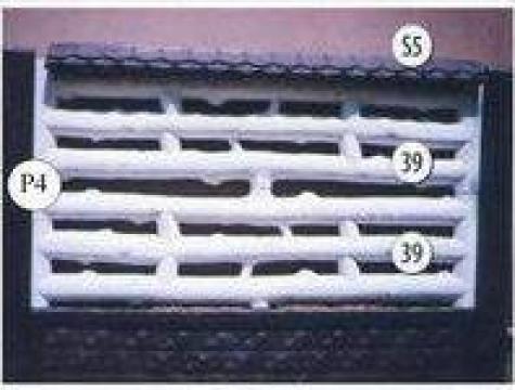 Gard placi beton cu lemn Nr. 12 de la Amonra Sun Srl
