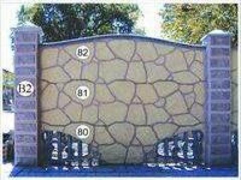 Gard piatra, fier forjat si prefabricate din beton 27 de la Amonra Sun Srl