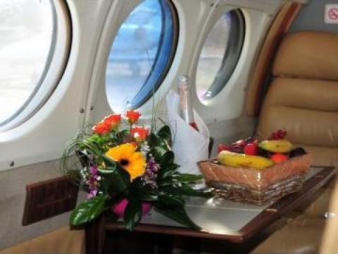 Aerotaxi / charter / zbor agrement de la Regional air Services SRL