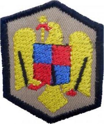 Emblema ecuson coifura marina de la Akilex Conf S.r.l.