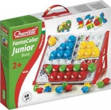 Jucarie educativa Quercetti - Fantacolor Junior Basic de la Caravana Cu Jucarii