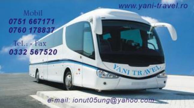 Transport persoane Falticeni-Italia de la Yani Travel SRL