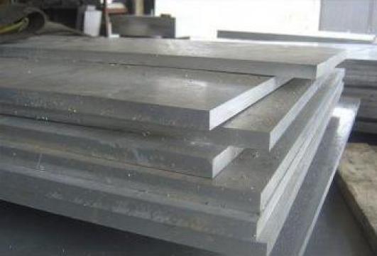 Tabla - placa aluminiu10x1000x2000 mm, EN AW 6082, AlMgSi1