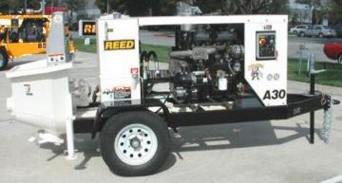Pompa beton Waitzinger - Reed A30HP, 23mc/h de la Autorav Srl