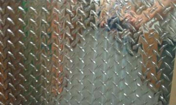 Tabla aluminiu striata Diamond 1.5x1250x2500 mm