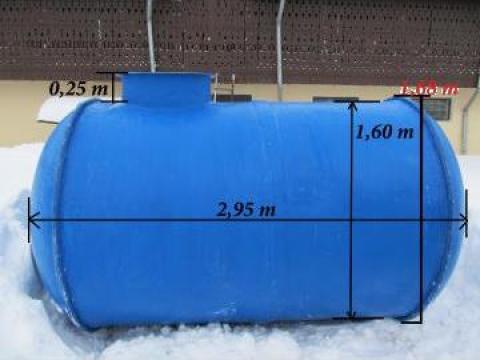 Rezervor (bazin) fibra sticla 5000 L de la Custom Tanks Srl