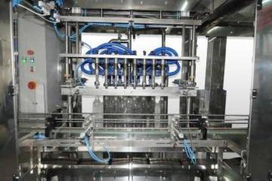 Dozator automat pentru imbuteliere alcool in flacoane PE